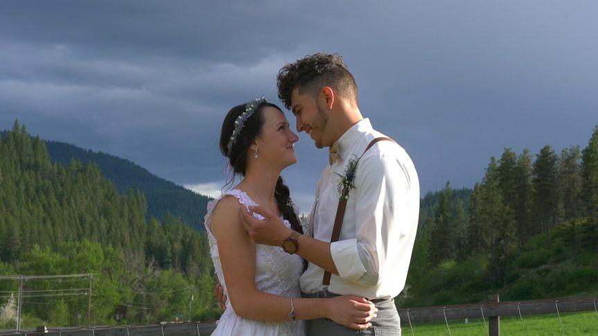 Mountain Landscape Romance