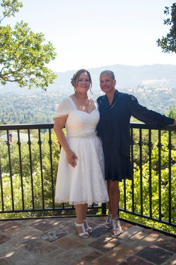 Bride & Mom