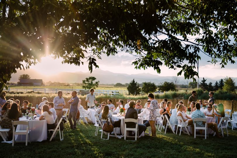 Summer wedding in Longmont