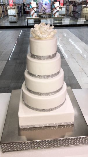 Dummy Wedding Cake