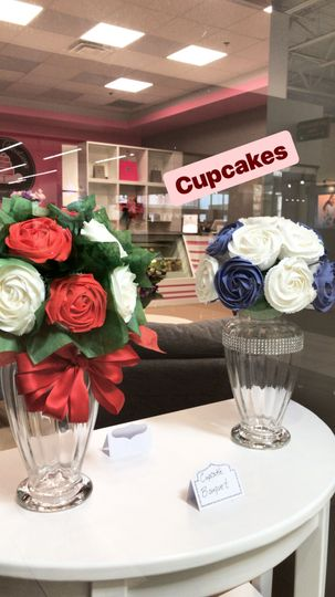 Cupcakes bouquet for parties and weddings