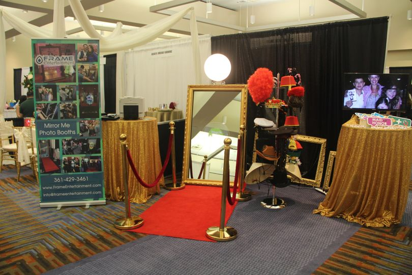 The beautiful booth