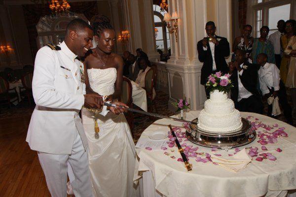 Military Wedding, Cake, Chamberline, Hampton, VA, Wedding Photographer