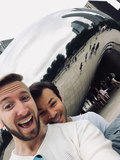 A romantic trip to Chicago
