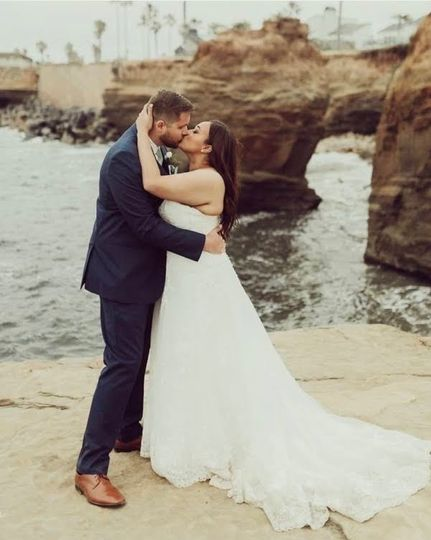 An elopement in San Diego