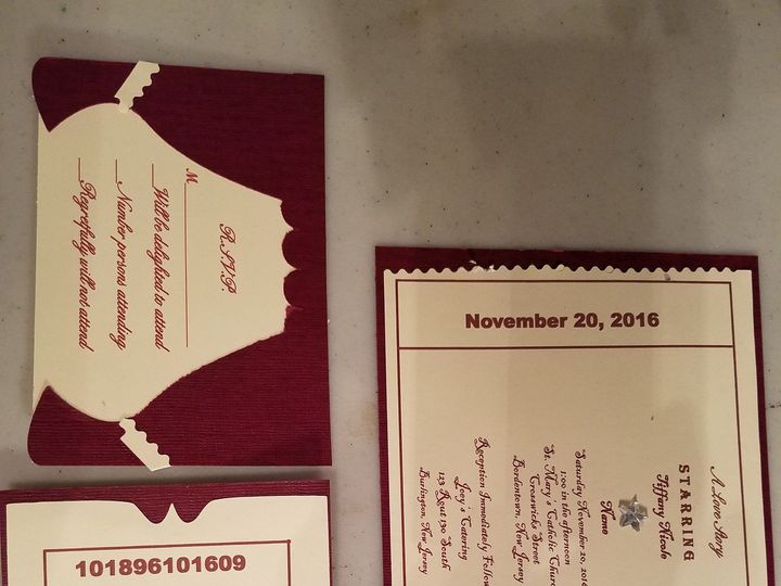 Tmx 1465801059277 20160609145737 Bordentown wedding invitation