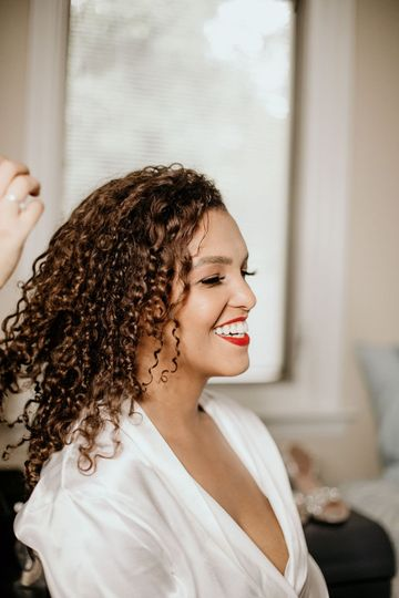 Curly hair experience