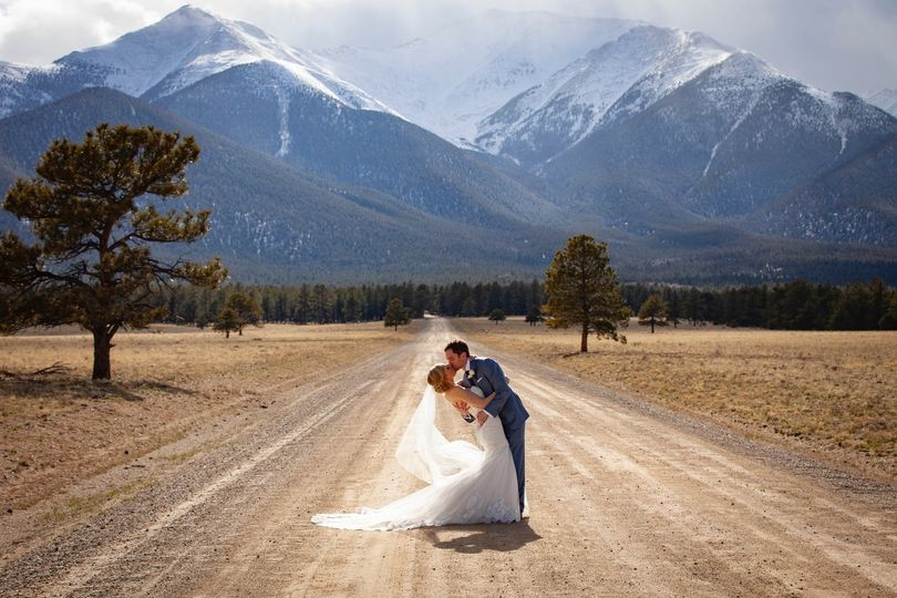 Rocky Mountain spring wedding