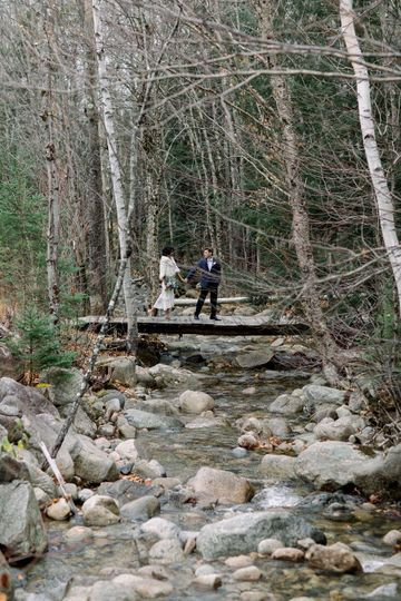 Bridge of the brook