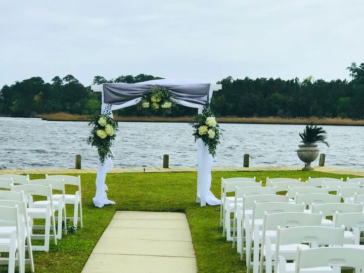 Arbor was designed with color palette of bridal party