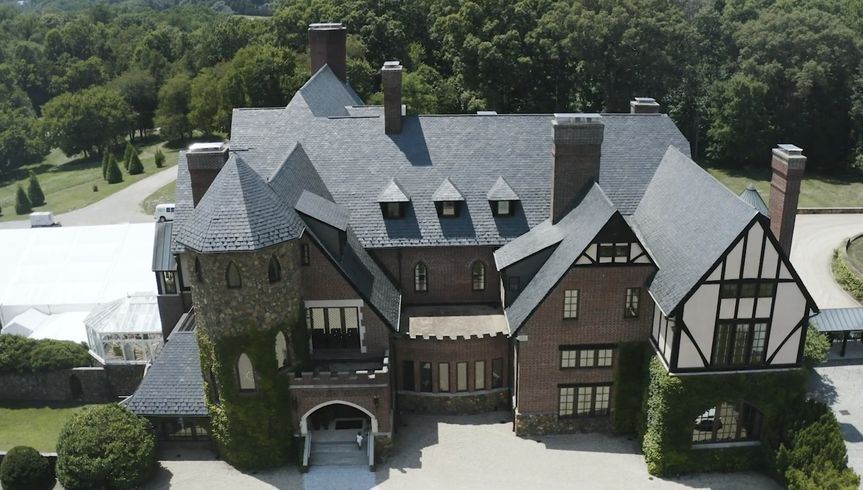 Aerial of Dover Hall
