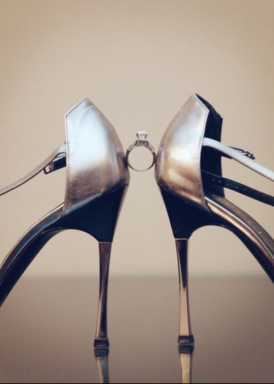 Shoes and ring - Chrystal Photography