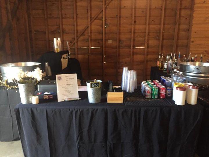 Bar setup