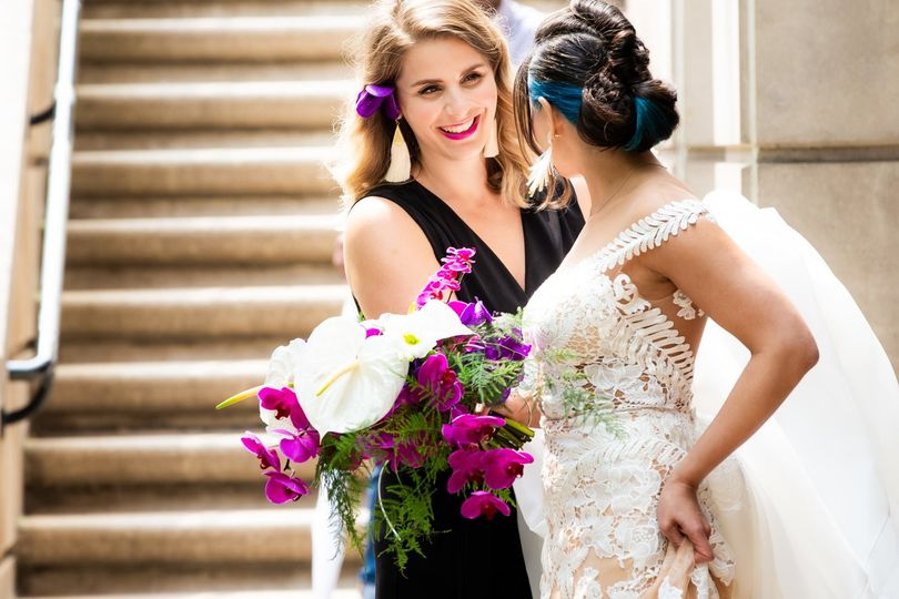 Owner Laura with Bride