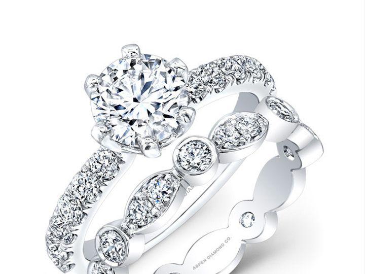Tmx 1382471621123 Aspen112612ringset Los Angeles wedding jewelry