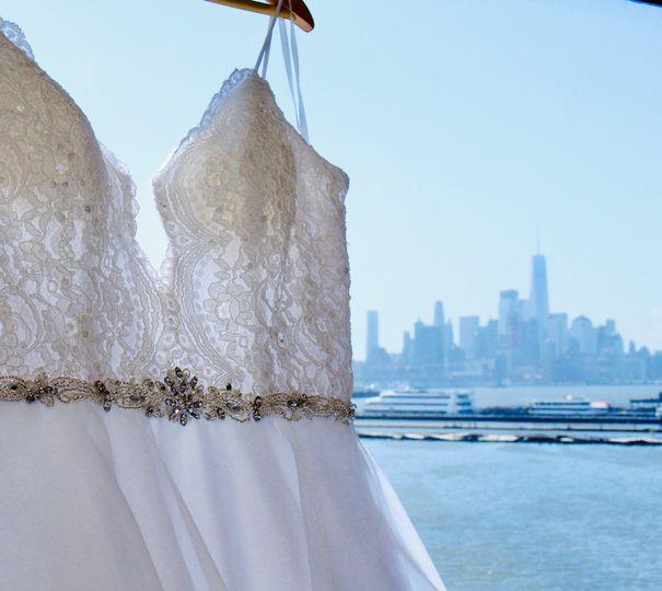 Dress Detail - NYC View
