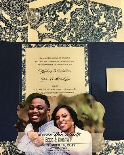 Awe Inspired Designs Invitations Houston Tx Weddingwire
