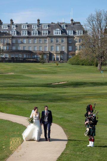 Wedding Gleneagles, Scotland