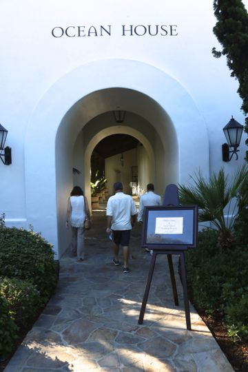 Entrance to ocean house