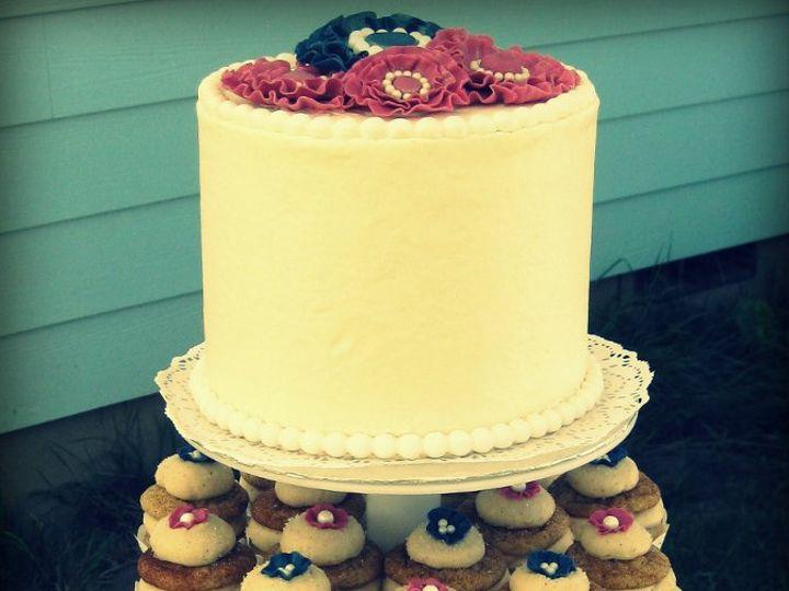 Tmx 1357785957987 IMG6671 Albany wedding cake