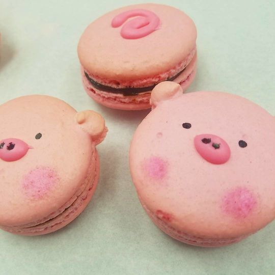Custom Gourmet Macarons - we can produce your Macarons with 2-3 days notice - pretty much all...