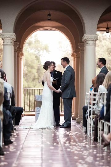 Wedding at Occidental College