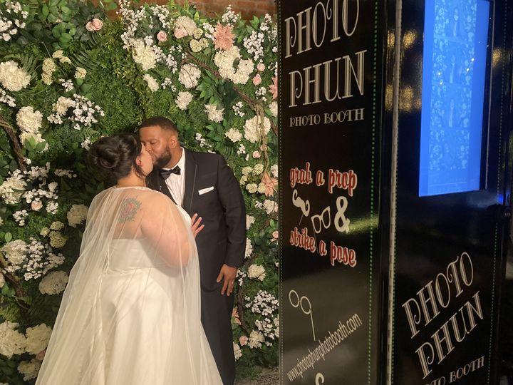 Photo Booth Wedding Ceremony