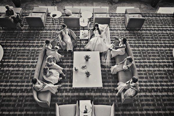 New Orleans Wedding, Modern Bridesmaids, Modern Bridesmaid, Modern Bride, David Paul Studio