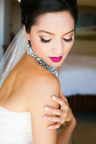 gorgeous bridal makeup photographed by callaway gablefull