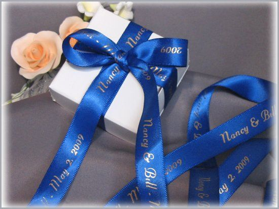 continuous personalized ribbon - wide