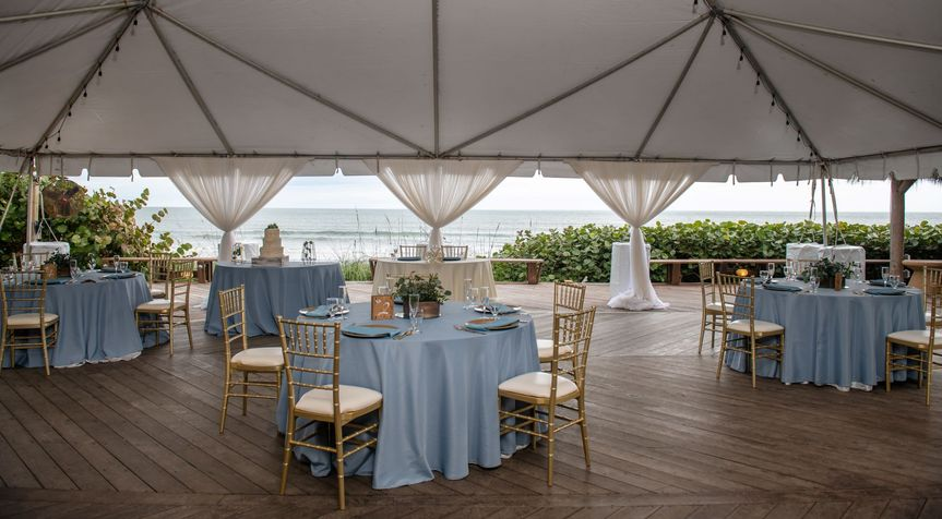 Oceanfront Tented Pavilion