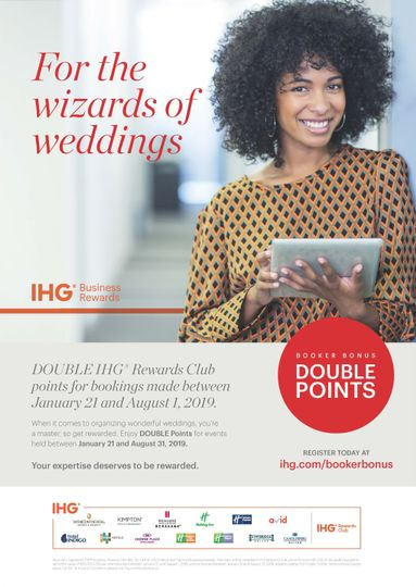 IHG Double Reward Points!