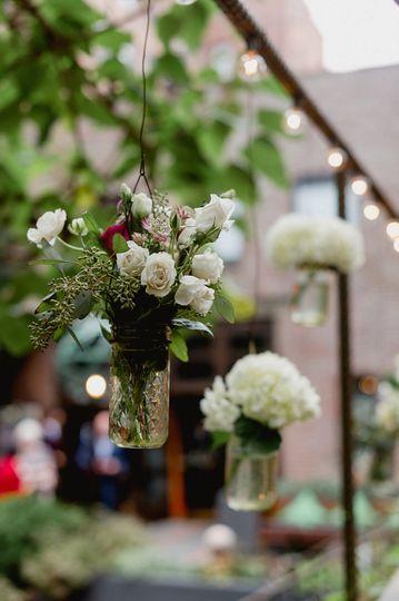 Flowers hanging
