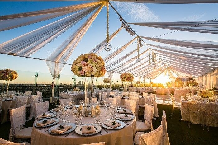 Tmx 1443819239908 Mike And Nishitas Rooftop Reception 3 West Hollywood, CA wedding venue