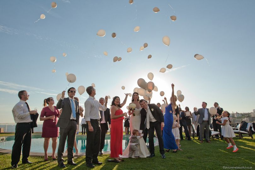 balloon release by picture me beautiful wedding ph