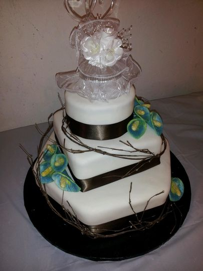 christina wedding cake