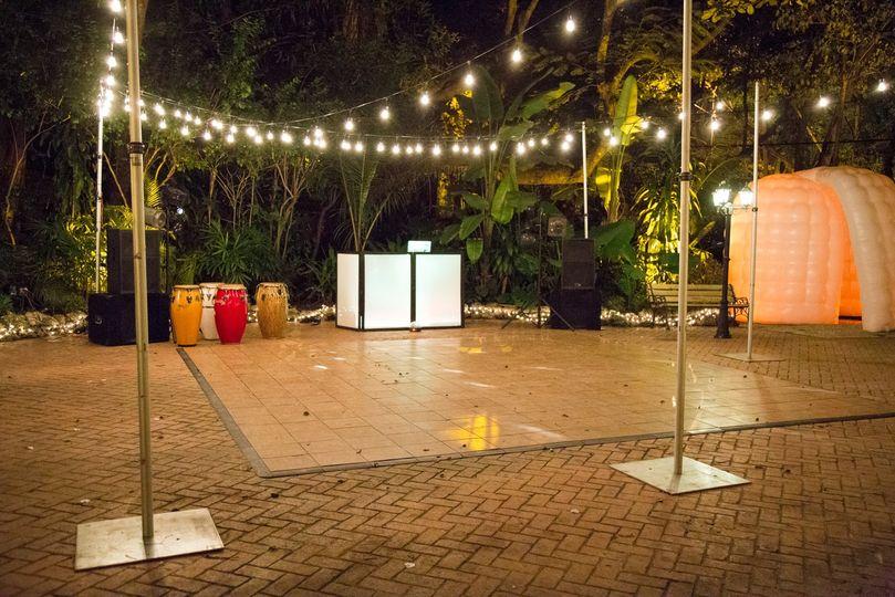 Dance Floor Deck Courtyard