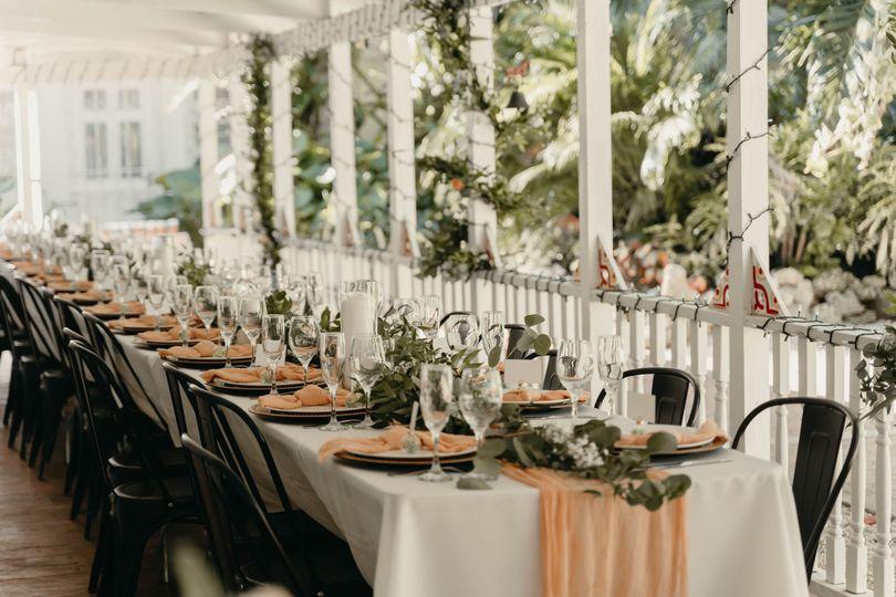 Micro Wedding Dinner