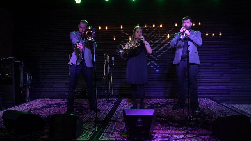 Brass trios and quartets