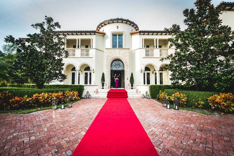 The Red Carpet Entrance