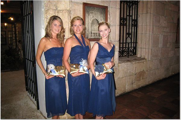 This is a third photo taken from the custom wedding order, summer 2008.  This photo features the...
