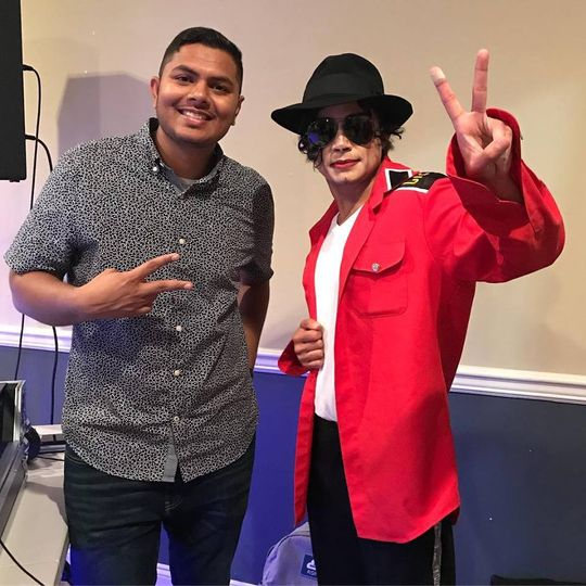 With impersonator