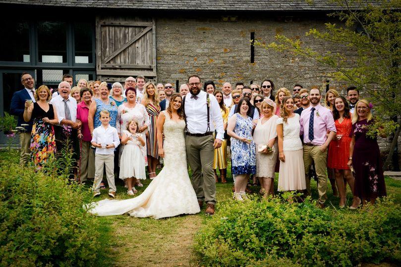 Family wedding shots