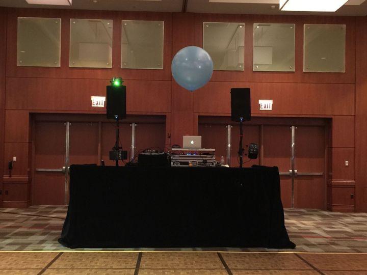 DJ's equipment