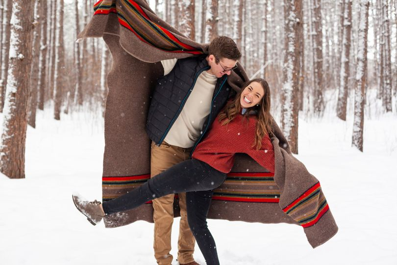 Engagement in the snow
