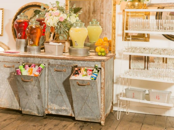 Tmx 1424474545859 Beverage Station With Glass Rack Seattle, WA wedding catering