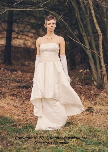 Tmx 1363305122209 ConsciousEleganceecoweddingdressClioivoryfrontH500croppedclose050 Stoneham wedding dress