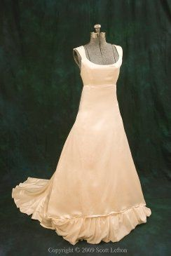 Tmx 1363305373690 ConsciousElegancegreenweddingdressJemmafrontH3651517 Stoneham wedding dress