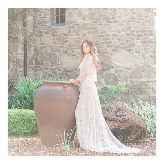 Glamorous bridal looks