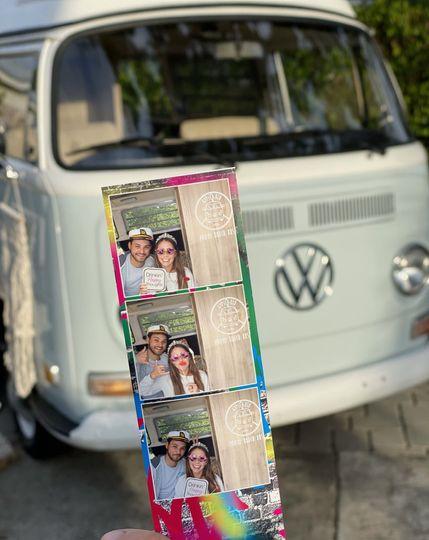 Custom photo strips